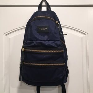 Marc Jacobs Biker Backpack in Navy (full size)